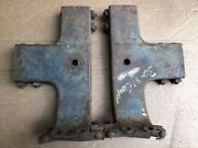 1930 1931 Model A Ford Coupe Top Wood Brackets With Hardware Roof Body 30 31