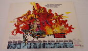 Vintage 1967 The Dirty Dozen 12x18 Industry Poster Ad Lee Marvin Jim Brown