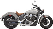 Bassani Classic 3 Slip-on Mufflers With Tip 8s17bsb