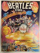 1978 Marvel Super Special 4 The Beatles Story George Perez Art With Poster
