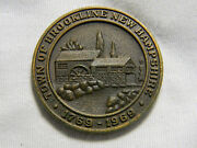 1969 Usa Brookline New Hamshire 200 Years Medal Cannon 084