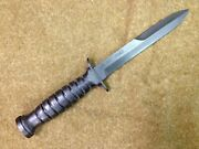 Ww2 Rubber Replica M3 Trench Knife Wwii Reenacting Airsoft Cosplay
