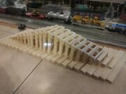 G Scale Model Train Trestle. 4 Upgrade. 24 Piece Set 0-6-0 Inch. Use For Lgb