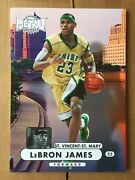 2012-13 Ud Fleer Retro Lebron James Blow-up Card 13.5x19 Inches 1/1 - Non Pmg