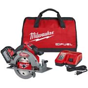 Milwaukee M18 Fuel 7-1/4 In. Circular Saw Kit Mlw2732-21hd Brand New