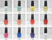 Opi Lacquer Nail Polish Mexico City Collection Spring 2020 M83 To M94 Pick Any