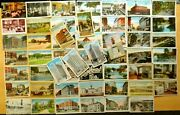 54 Postcards All From Portland Maine Lot Me 1910-1950 Street Scenes Large Letter