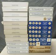 Lot Of 24 Hummel Goebel Annual Collector Plates 1971-1994 In Original Boxes