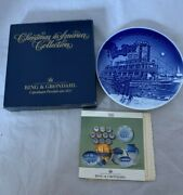 1995 Bing And Grondahl Christmas Plate Christmas Eve At The Mississippi In America