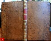 Babler 1786 By Hugh Kelly Fine Leather Book W/ Engravings Harrison Rare Lovely