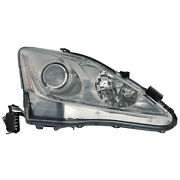 Headlight Halogen Right Passenger Fits 2006-2008 Lexus Is250 And Is350