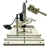 Scott Engraving Machine Pantograph Modified Very Rare Used Working Condition