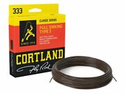 Cortland 333 Full Sinking Type 3 Brown Wf5s-wf8s 90ft Fly Line