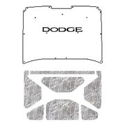 Backorder Only Hood Insulation Pad Heat Shield For 72-80 Dodge Truck Under Cove