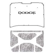 Hood Insulation Pad Heat Shield For 72-80 Dodge Truck Under Cover W/m-075 Dodge