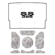 Hood Insulation Pad Cover For 76 Chevrolet El Camino Acoustihood Kit W/g-ss396