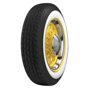 Coker 65r15 Bfgoodrich Radial 2 1/4 Wide Whitewall Tire Perfect For Vw Beetle