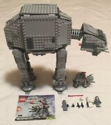 Lego Star Wars 75054 And At-at Imperial Walker Incomplete And 75075 Micro At-at
