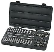 Gearwrench Kd 80550 57 Piece 3/8 Drive 6 Point Socket Set Brand New