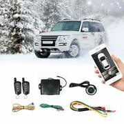 Universal Car Remote Starter Keyless Entry One Key Engine Start For Car With ...