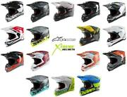 Alpinestars Supertech M8 Helmet Off Road Mx Motocross Mips Dot Ece Xs-2xl