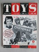Toys And Novelties Magazine - August 1959 Kenner Catalog Marx Fold-out Poster