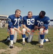 1965 Mcdowell, Bolin And Brown Giants - 120mm Football Negative