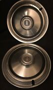 Hard-to-find Original Vintage 1969 14andrdquo Inch Plymouth Hubcaps