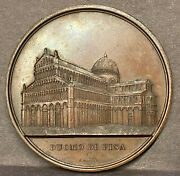 Jacques Wiener Cathedral Medal Pisa 59mm