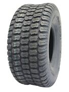 Deli Tire 15x6.00-6 Turf Tire 4 Ply Tubeless Garden Tractor Lawn Riding Mower