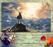 Breath Of The Wild Paint By Numbers Kit For Adult Kids Gift Legend Of Zelda