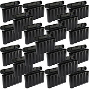 25 Black 18650 And Cr123a 6 Battery Holder Storage Case For 18650 Batteries