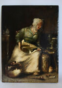 French Painter Joseph Bail 1862-1921 Oil Painting To 60k