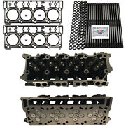 New 18mm Cylinder Heads Studs Mahle Head Gaskets - Fits Ford Powerstroke 6.0l