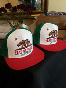 Lot Of 2 Beutiful Fear California Winchester Mystery House Hat, Cap