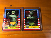 2 Different Rare Wwf Wwe Star Wars Crossover Card Lot Swwf Promo Cards