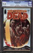 Walking Dead 27 Cgc 9.8 White Image 2006 1st Appearance Governor