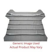 5 Bow 12andfrac12 Headliner With Sails Ribbed - Maroon For 1968 Chevy Chevelle Hardto