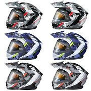 Scorpion Exo At950 Outrigger Dual Lens / Electric Helmet - Choose Color And Size