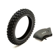 Tyre And Inner Tube 2.75-10 Off Road Knobbly Fits Yamaha Pw50 Dirtbike 10 Inch Rim