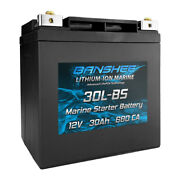 Banshee Starter Battery For All 25hp Or Less Suzuki Outboard Motors