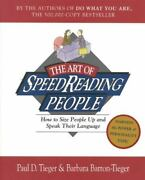 The Art Of Speed Reading People How To Size People Up And Speak Their Language