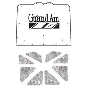 Hood Insulation Pad Heat Shield For 1973-1977 Pontiac A-body With G-109 Grand Am