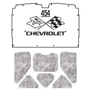 Hood Insulation Pad Heat Shield For 1978-1987 Chevrolet El Camino With Ceid-454