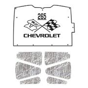 Hood Insulation Pad Heat Shield For 94-04 Chevy S-10/s-15 Under Cover W/ceid-265