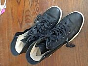 Uggs Lace-up And Zip Side Over Ankle Black-soft Size 8 1009885