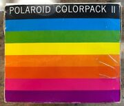 Polaroid Colorpack Ii Land Camera Complete With Registration Card