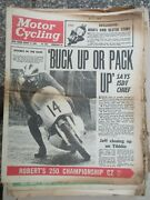 Motor Cycling Newspaper Magazines Uk 1960and039s 60 Newspapers Issues