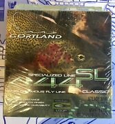 Cortland 444 Classic Wf10 Type 2 Sinking Fly Line Dual Loops