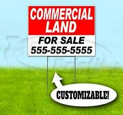 Commercial Land For Sale Custom 18x24 Yard Sign With Stake Bandit Usa Realty